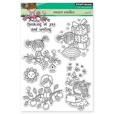 Penny Black Clear Stamp sweet smiles