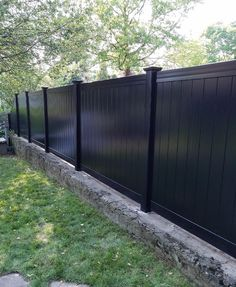 vinyl fence Archives - Westchester Fence Company - in 2019 Privacy Fence Decorations, Privacy Fence Landscaping, Vinyl Privacy Fence, Privacy Fence Designs, Patio Fence, Backyard Fences, Fenced In Yard, Vinyl Fencing, Backyard Privacy