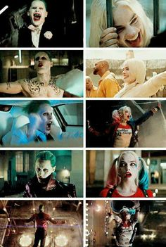 Joker and Harley Quinn ~the Suicide Squad movie