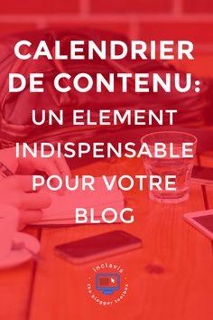 Le calendrier de contenu ou éditorial est l'objet indispensable à tout blogueur! Découvrez pourquoi et comment en créer un en cliquant ici