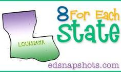 Eight for Each State – Louisiana