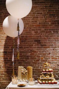 Una original mesa de dulces para una boda / An original sweet table for a wedding
