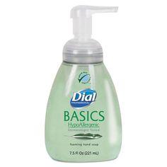 Basics Foaming Hand Soap, 7.5oz, Honeysuckle, 8/carton