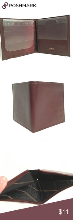 Amity Leather wallet Amity Leather wallet NWOT Amity Bags Wallets
