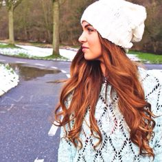 Negin Mirsalehi / Question and Answer // Street Style 2014, Negin Mirsalehi, Hair Color Auburn, Fashion Blogger Style, Fashion Bloggers, Cozy Winter Outfits, Fashion Corner, How To Purl Knit, Autumn Winter Fashion