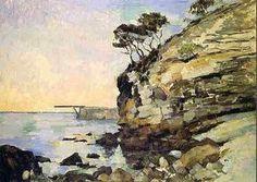 Paul CEZANNE (1839-1906) L'Estaque, effet du soir 1870