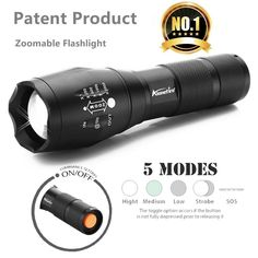 Tactical LED Flashlight  #love #free #newstuff #sale #follow #promotion