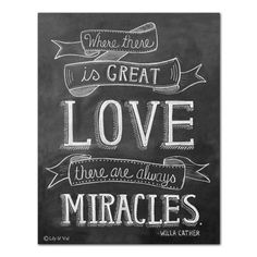 """""""Where There is Great Love"""" (Print)"""