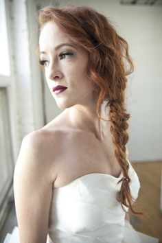 Messy braid: http://www.stylemepretty.com/living/2015/01/29/a-perfectly-chic-braided-bun/