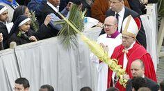 Pope Francis Palm Sunday