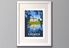 Chiswick Art Print, Limited Edition Wall Art - Unframed