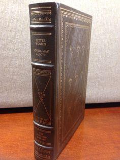 Franklin Library Little Women Louisa May Alcott Full Leather 100 Greatest Books