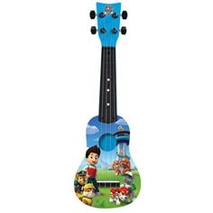 First Act Nickelodeon Paw Patrol Mini Guitar Ukulele. This beginning guitar is designed and sized especially for young players. Traditional body shape for great sound. Boy Room, Kids Room, Paw Patrol Bedroom, Paw Patrol Costume, Best Christmas Toys, Kids Toys For Boys, Children Toys, Kitchen Sets For Kids, Paw Patrol Toys