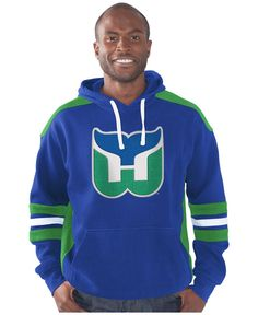 db137a1b882 G-III Sports Men's Hartford Whalers Breakaway Hoodie Men - Sports Fan Shop  By Lids - Macy's
