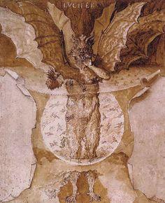 Ludovico Cardi aka Il Cigoli, Lvcifer, circa 1590.