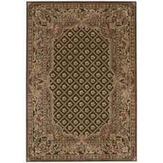 Shop for kathy ireland Villa Retreat Euro Century Garden Room Chocolate Area Rug by Nourison (7'9 x 10'10). Get free shipping at Overstock.com - Your Online Home Decor Outlet Store! Get 5�0in rewards with Club O!