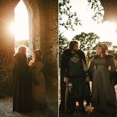 Game of Thrones Engagement Shoot