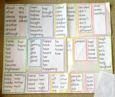 Personal Word Wall Poster