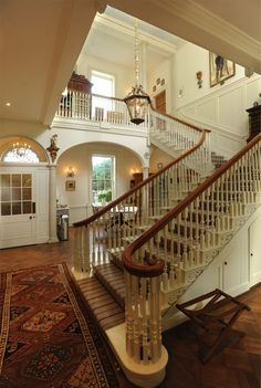 What an entrance! That staircase!