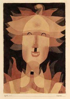Maske (1921) Paul Klee