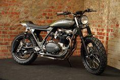 "Kawasaki Z750B ""N-Zed"" Street Tracker by The Pacific Motorcycle Co., New Zealand."