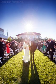 Nicole Dixon Photographic - Columbus Ohio Wedding Photographer - Columbus Museum of Art Wedding Outdoor