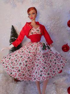 Barbie Silkstone Poppy Parker Vintage Repro  Fashion Handmade OOAK / Mary      #Unbranded
