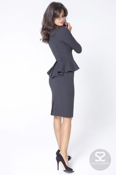 Pin on Stepford « Modetrend Business Mode, Business Outfits, Business Attire, Dress Suits, I Dress, Peplum Dress, Skirt Suits, Dress Attire, Pencil Dress