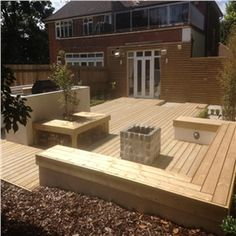 Decking Materials & balustrades in Traditional, Classic or Contemporary ranges. The finest quality decking for your garden in the North West, Merseyside and Cheshire Decking Material, Patio, Traditional, Contemporary, Decking Ideas, Garden, Outdoor Decor, Home Decor, Image