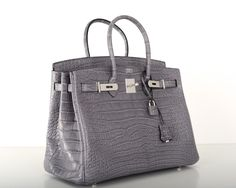 different styles of hermes bags - HERMES BIRKIN BAG 40cm BLUE INDIGO MATTE CROC POROSUS GOLD ...