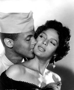 Dorothy Dandridge and Harry Belafonte in Carmen Jones, 1954. Produced and directed by Otto Preminger