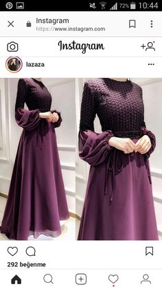 Best of the year - Hijab Clothing Abaya Fashion, Muslim Fashion, Modest Fashion, Fashion Dresses, Wedding Robe, Abaya Mode, Hijab Style Dress, Abaya Style, Moslem