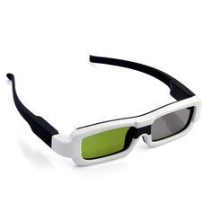 Put these 3D glasses and enjoy watching your 3D TV in style and with great effects With a built-in 60mAh battery these 3D glasses can last about 40
