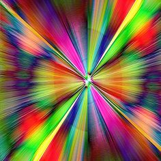 Explosion Optical Illusion Gif, Optical Illusions, Spirals In Nature, World Of Color, Psychedelic Art, Op Art, Trippy, Rainbow Colors, Artsy Fartsy
