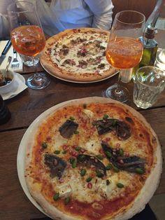 Pizza und Spritz im riva tal in München. Lust Restaurants zu testen und Bewirtungskosten zurück erstatten lassen? https://www.testando.de/so-funktionierts