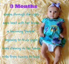 3 Months Baby Update