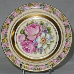Vintage French Limoges plate