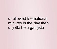 Drink some coffee, put on some gangsta rap, and handle that shit.