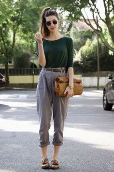 My Personal Stylist Swag Outfits, Fashion Outfits, Hipster Style Outfits, Hipster Fashion, Girl Outfits, Capsule Outfits, Natural Clothing, Looks Street Style, Professional Outfits