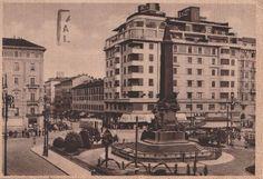 Milano Piazza delle Cinque Giornate tram animata viaggiata  C630