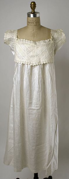 American linen and cotton lingerie 1874