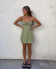 Look Fashion, Fashion Outfits, Jugend Mode Outfits, Looks Pinterest, Cute Dresses, Summer Dresses, Look Vintage, Mode Inspiration, Looks Style