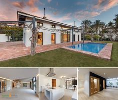 Fantastic luxury villa completely renovated, owner of a contemporary style and built to the highest standards, this impeccable property is located in one of the… Luxury Property For Sale, Luxury Villa, Contemporary Style, Mansions, House Styles, Building, Home Decor, Luxury Condo, Decoration Home