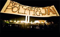 História Real: Reforma Política: O que é? Quais as propostas?