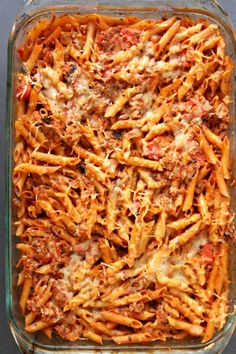 Weight Watchers Baked Turkey and Pasta Casserole is a healthy, filling dinner recipe. Points are figured for all 3 myWW plans and it is low point! This is also a great recipe for using leftover turkey. Low Calorie Casserole, Low Calorie Pasta, Pasta Casserole, Low Calorie Recipes, Ww Recipes, Pasta Recipes, Cooking Recipes, Pasta Bake, Healthy Recipes