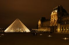 Le Louvres - You can stay a week in this museum. A must do if you're coming to Paris.