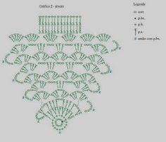 DIY Handmade: Choinki na szydełku -  5 DIY, wzory, schematy