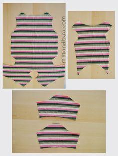 cut out pajamas patterns