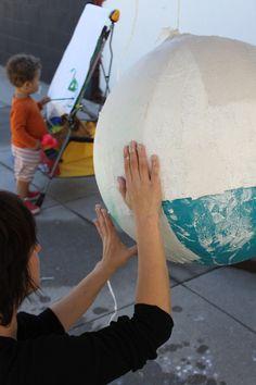 Tutorial: Cómo hacer una lámpara de papel maché: Reparaciones y remodelaciones | En123Inmuebles.com.ve
