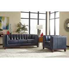 Villa Park 2 Piece Top Grain Leather Set   Sofa, Loveseat | Furniture! |  Pinterest | Villa Park, Villas And Costco